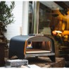"""Forno per Pizza e pane  """"Ibrido"""" alimentato a Legna, gas o pellet. In acciaio inox. Temperatura massima 500C°"""