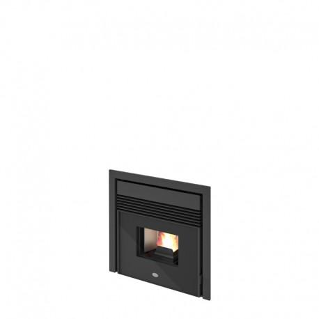 Inserti Cerino Frontale porta in vetro serigrafato nero