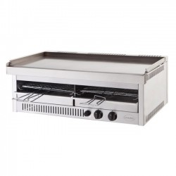 SHARK 80 INOX BARBECUE GAS A DOPPIA COTTURA