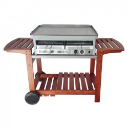 CARRELLO CHEF ADATTO A MOD. BBQ CITY E SHARK PER BARBECUE GAS